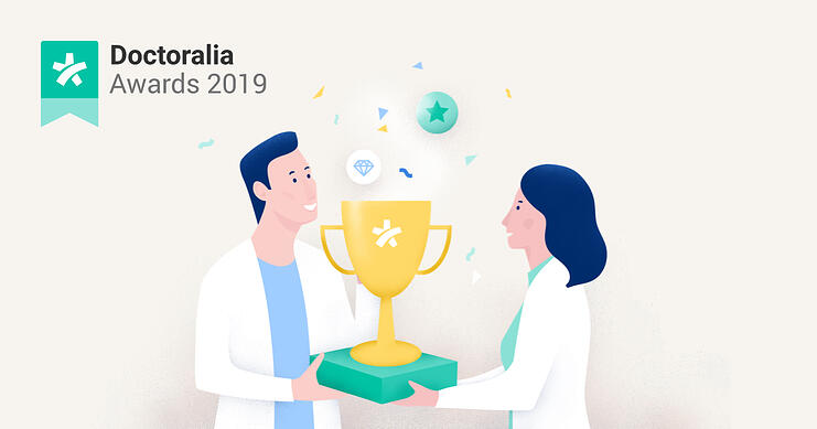 Doctoralia Awards 2019 main illustration