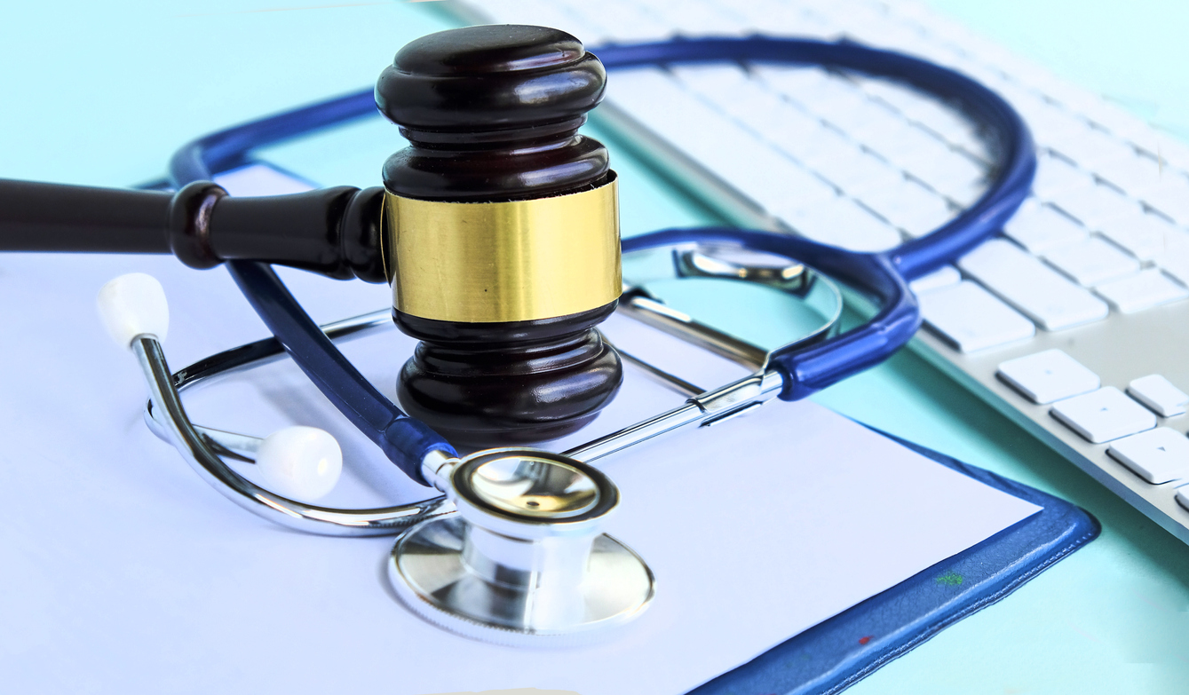 Gavel-and-stethoscope.-medical-jurisprudence.-legal-definition-of-medical-malpractice.-attorney.-common-errors-doctors,-nurses-and-hospitals-make-1007896114_1343x785