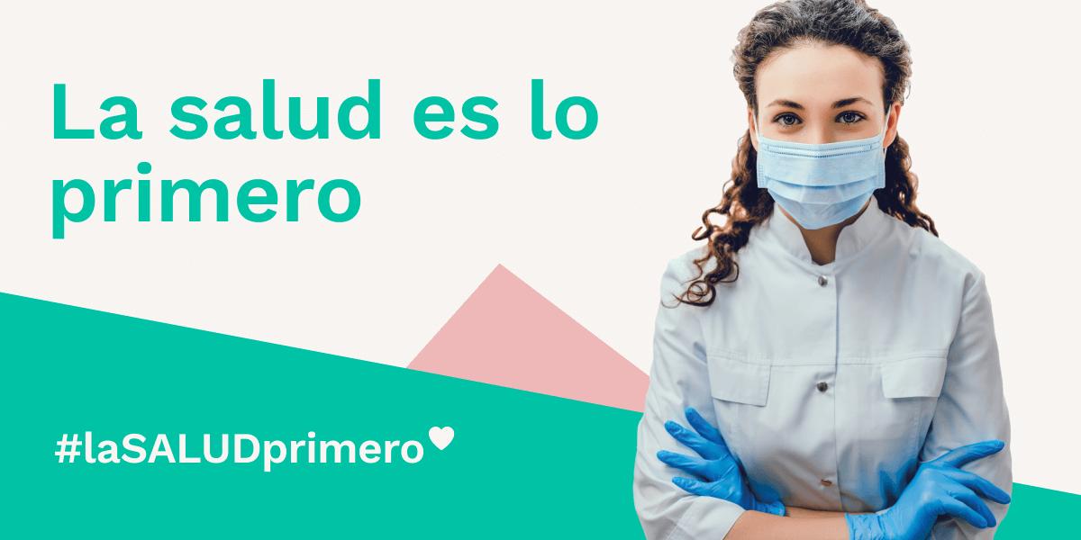 #LaSaludPrimero: la campaña para concienciar sobre el cuidado de la salud